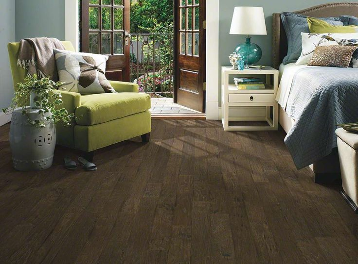-Wynfield Hickory: 510 Stonehenge. Wynfield Hickory, which warms rooms with its rich grain and hand-scraped texture, has proven so popular we've added another width plus three new colors. Hickory has inherent strength and durability, which make Pebble Hill a fantastic flooring choice. Made in the USA.