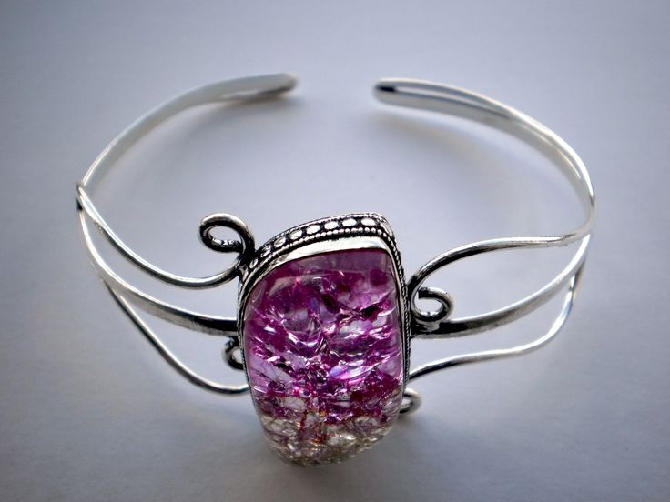 Sterling Silver 925 Pink Stone Bracelet €28.00