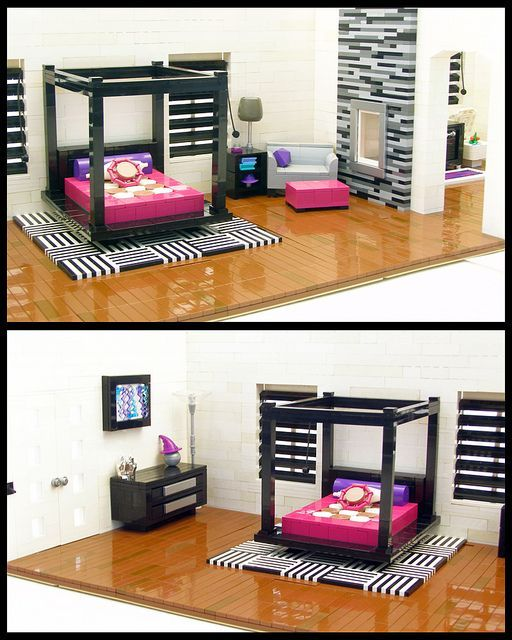 Lego this should be a challenge on #hgtv #designstar. Make a room and decorate it using only lego's (and possibly dollhouse furniture- some of the modern pieces are pretty cool)