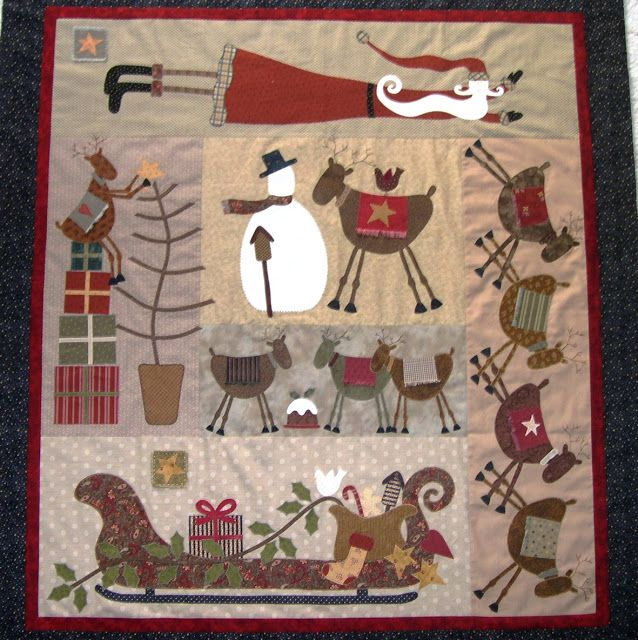 .Quiltscapes.: A Christmas Quilt Story...