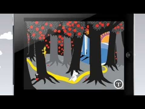 The Book About Moomin, Mymble and Little My interactive storybook. http://www.spinfy.com/apps/storybooks
