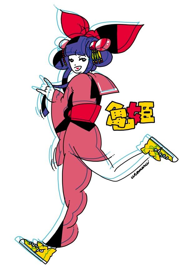 亀姫 ( スタジオライフ「天守物語」 http://www.studio-life.com/stage/tenshu2012/ )