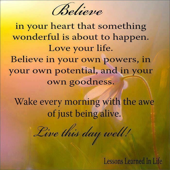 Life Wonderful Quotes: Beautiful Positive Quote