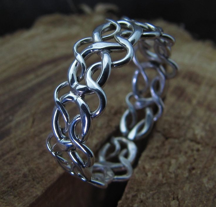 Braided Sterling Silver Celtic Knot Band Toe Ring/Rings/Weave GUumdWuDJJ