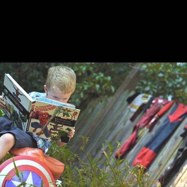 Superhero Photoshoot ... Leslie Terrell Photography