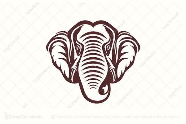 Logo for sale: Elephant Logo