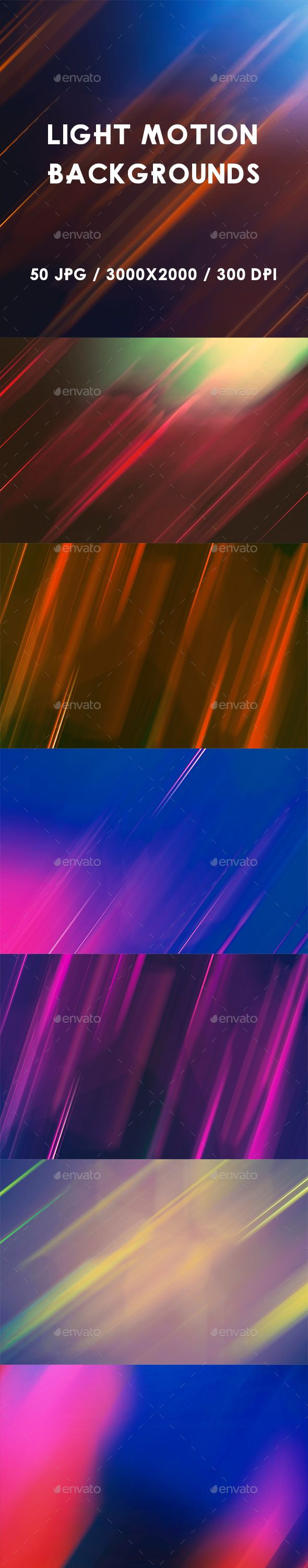 50 Light Motion Backgrounds - Abstract #Backgrounds Download here: https://graphicriver.net/item/50-light-motion-backgrounds/19455643?ref=alena994