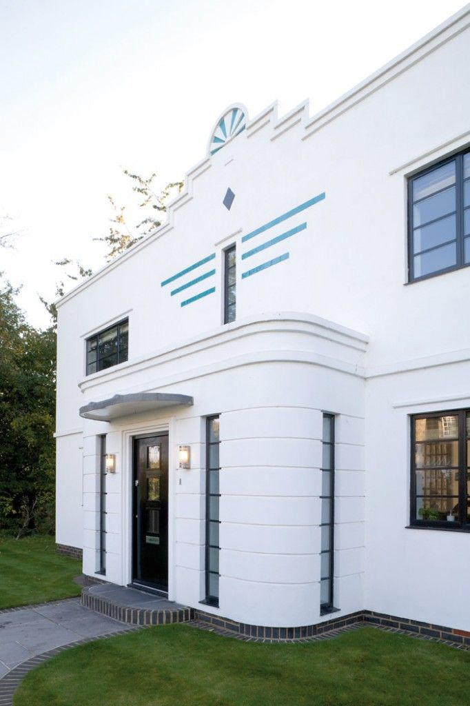Custom Art Deco Windows, Doors and Inspiration from the Heritage Window Company. Including smoked and curved windows.