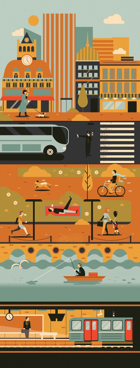 Some editorials made in 2013 Vol.2 by Adam Quest, via Behance