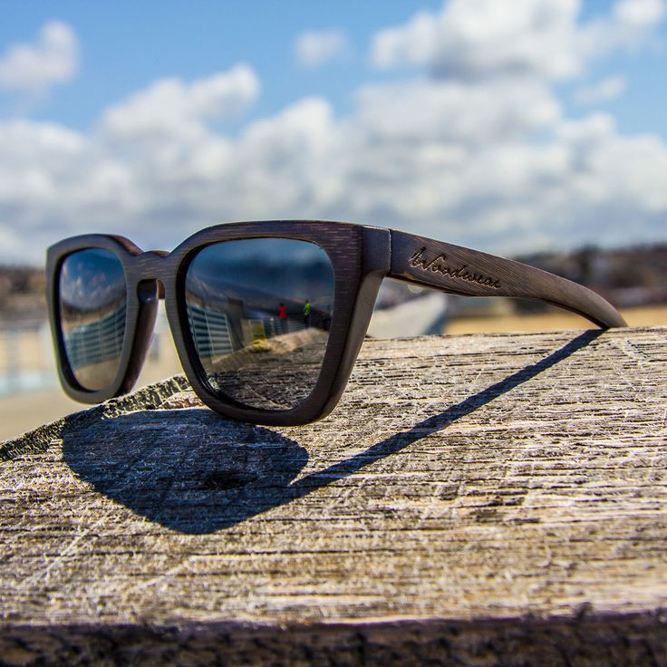 How cool would Dad look in these Bamboo Sunglasses with polarized lenses? Super-cool, super-sustainable bamboo in a time-tested design; they even float!