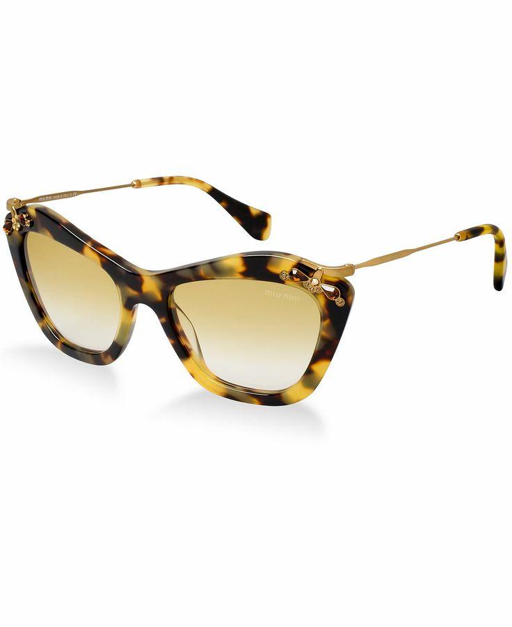 MIU MIU Sunglasses, MU 03PS - - Macy's