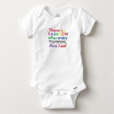Rainbow Baby Baby Onesie #rainbow #kids #clothing