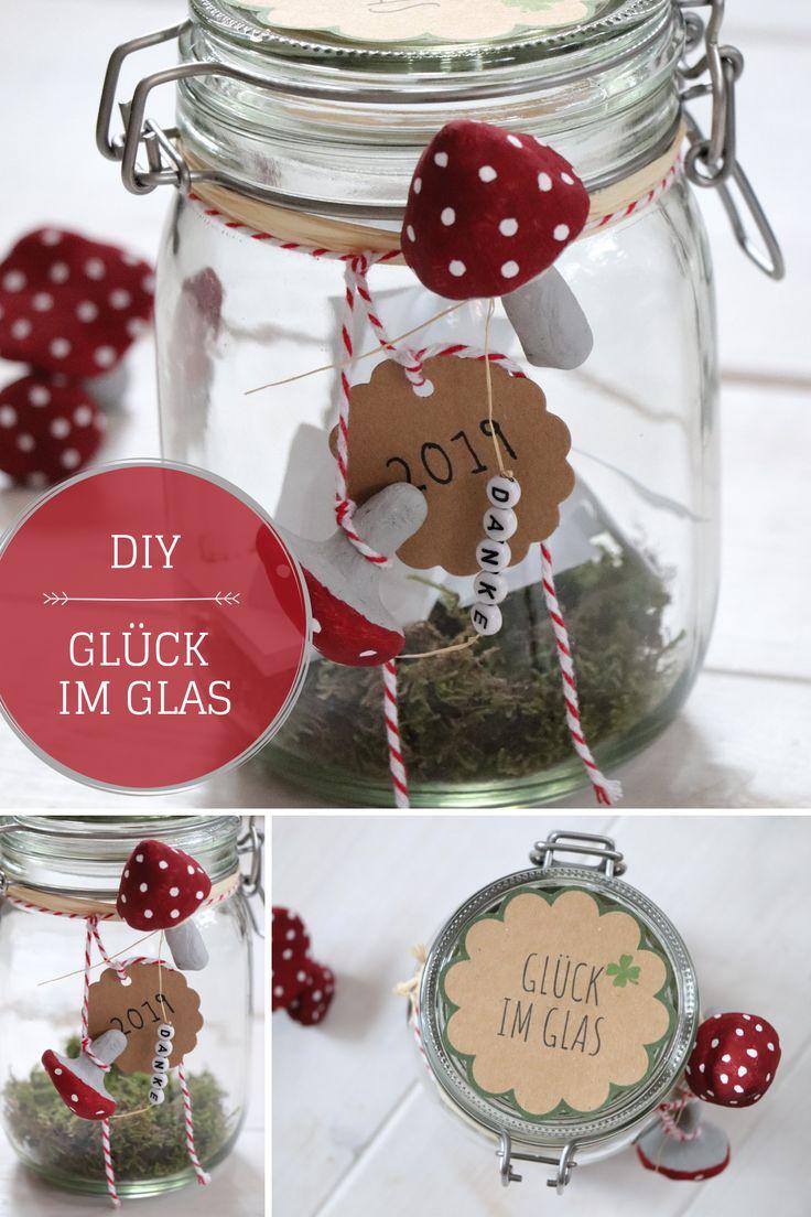 DIY – Glück im Glas