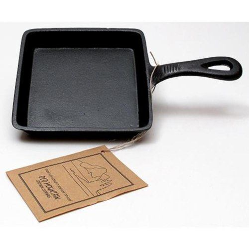 Old Mountain Cast Iron Preseasoned Square Skillet * Learn more by visiting the image link.(This is an Amazon affiliate link and I receive a commission for the sales)