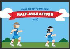 How to Run Your Best Half-Marathon Ever [INFOGRAPHIC]