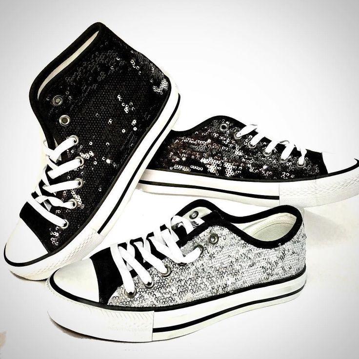 Lentejuelas brillo y glamour en tus pies con estas bambas de @mtngmustang .  967016666 mensaje directo
