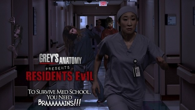 *Residents Evil* (Grey's Anatomy) Halloween Spoof Photos of some ABC Shows.  I love it when ABC & the actors do this!