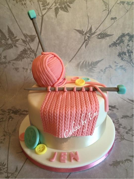 Knitting Cake Designs : Best images about cakes on pinterest