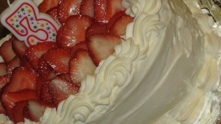 the best whipped cream icing recipe ever.and good tip - bowl in freezer to preserve stability