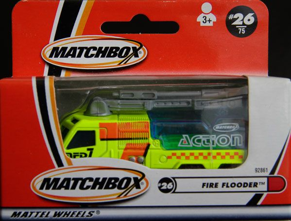 Model Matchbox Fire Flooder ( hasiči)