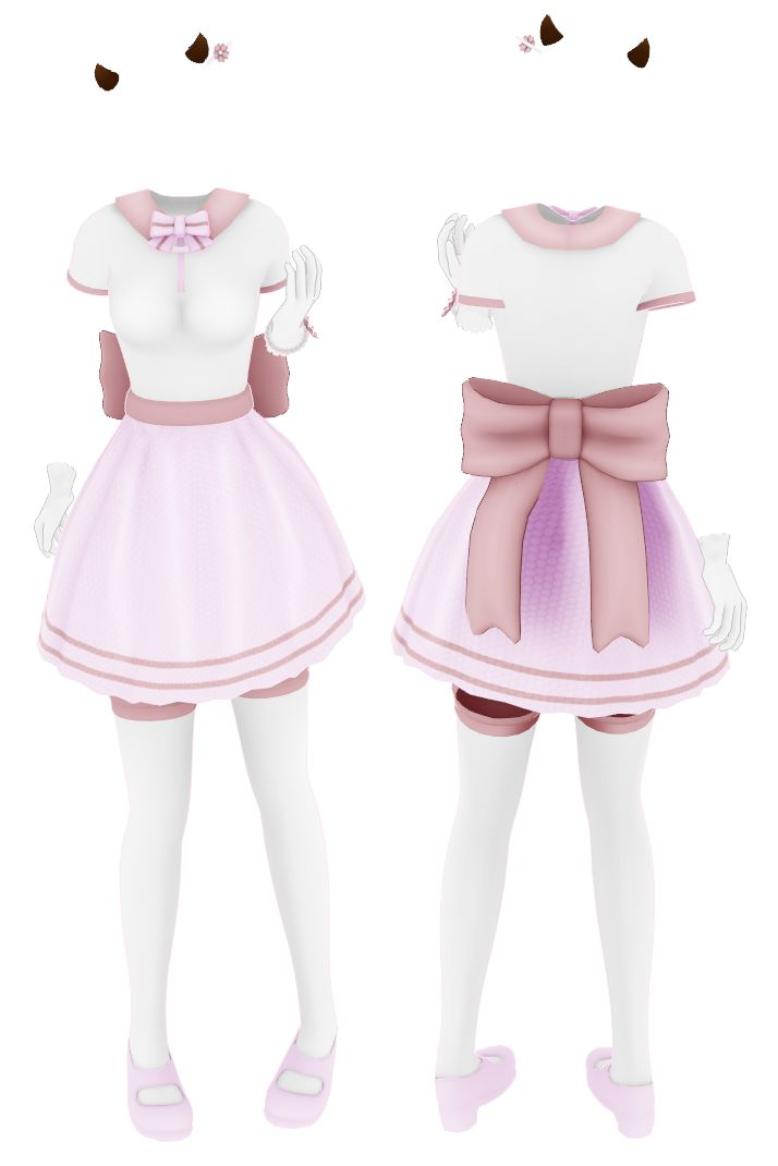 [MMD Commission] Pink Outfit {No DL} by Arneth-Myndraavn ...