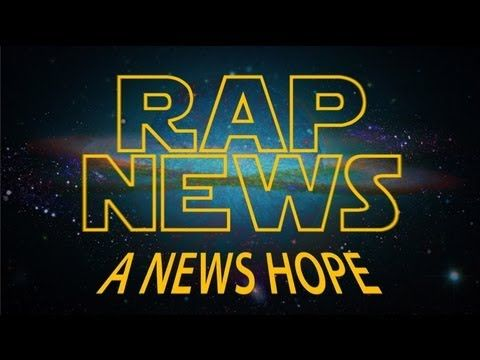 "Juice Rap News: Episode XIII - A NEWS HOPE. It is a time of corporate war; deprived of a reliable media the people of Planet Earth are kept misinformed and in a state of perpetual conflict. Is an honest Fourth Estate the only Force than can restore peace and balance to the Galaxy? To find out, we consult two of journalism's most influential and inflammatory figures: Rebel journalist enfant terrible, Julian Assange, who awaits a verdict in London which could see him ""extradited"" to Sweden ..."