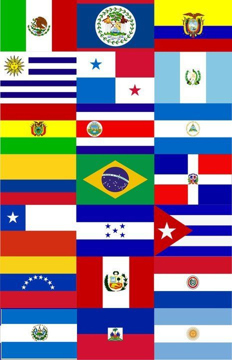 flag of each country