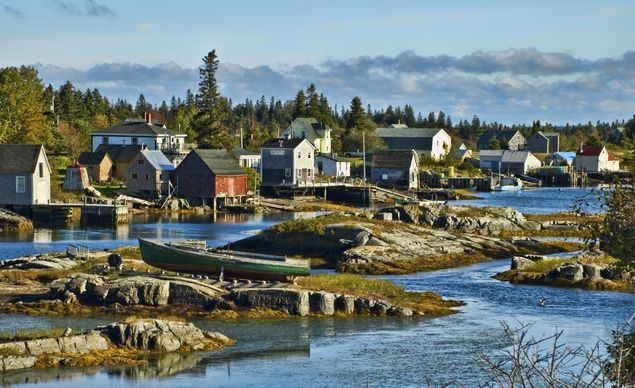 Near the Blue Rocks outside of historic Lunenburg, Nova Scotia. (From: PHOTOS: 10 Best Budget Destinations for 2014)