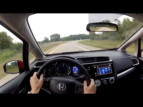 2015 Honda Jazz 1.5V Start-Up, Full Vehicle Tour and Quick Drive - YouTube