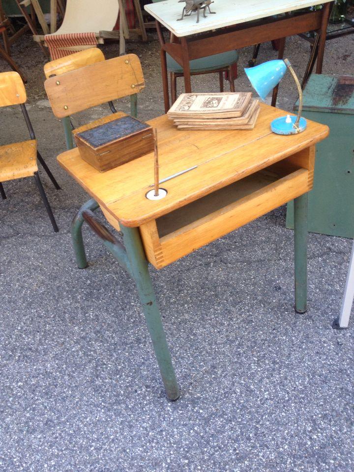School #vintage #desk