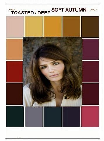 Helena has similar eyes - all these colours are too dark for me - not a dark autumn.