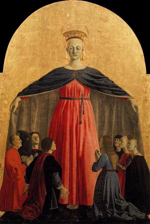 Piero della Francesca, Polyptych of the Misericordia (detail), 1445-62