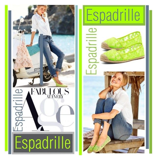 Espadrilles by betiboop8 on Polyvore featuring Victoria's Secret, WardrobeStaple and espadrilles