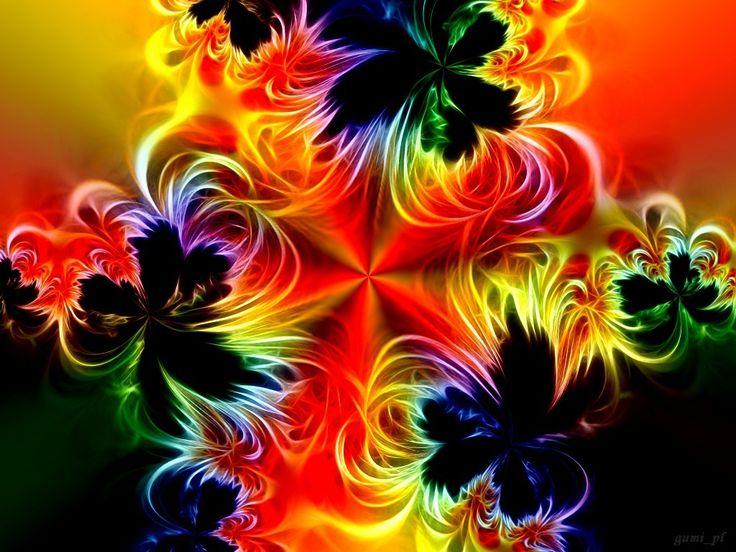 rainbow fractal wallpaper - photo #28