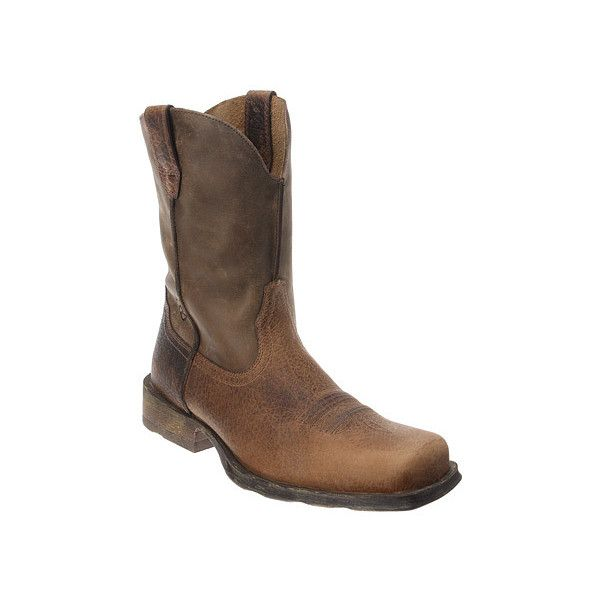 Ariat Rambler Boots ($150) ❤ liked on Polyvore featuring men's fashion, men's shoes, men's boots, men's work boots, mens cowboy work boots, mens square toe boots, mens work boots, ariat mens work boots и ariat mens boots