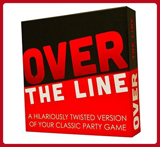 Over The Line Party Game- A Combinaton Of Charades & Pictionary With Over The Line Words - Toys for big kids (*Amazon Partner-Link)