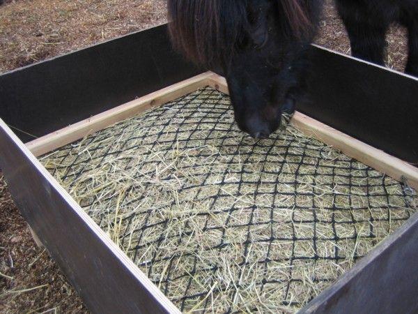 Slow hay feeder