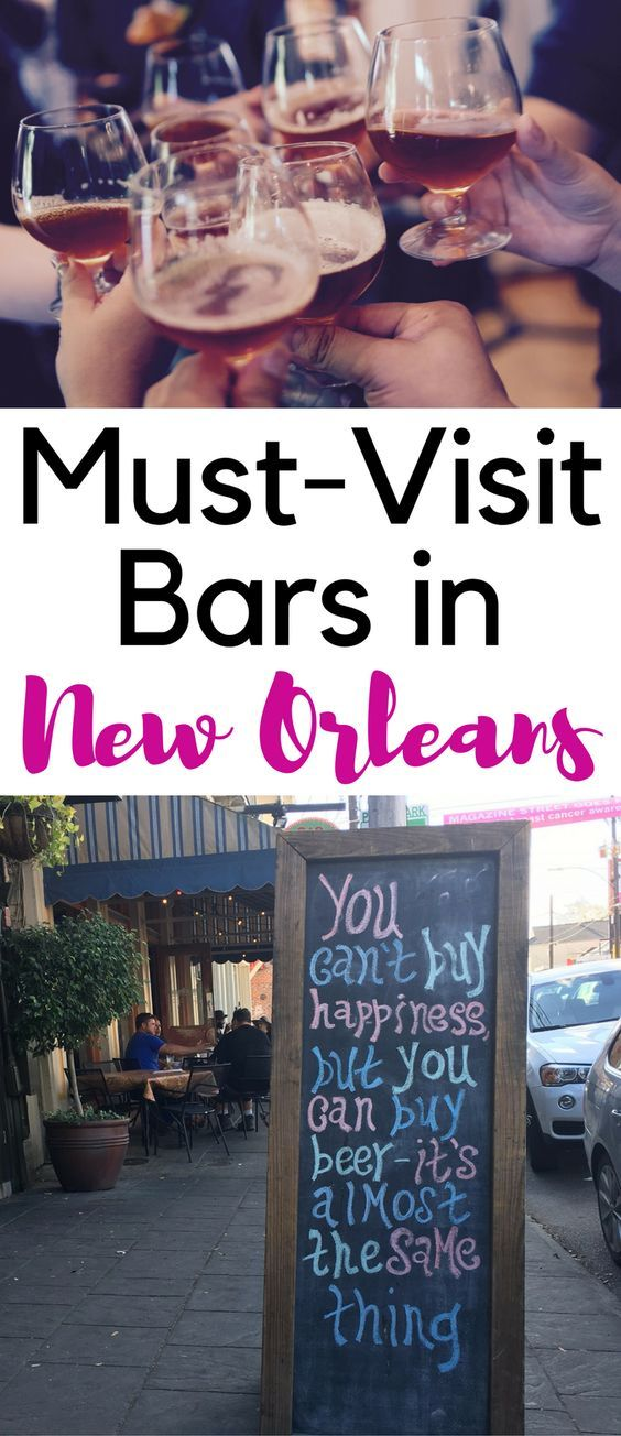 This travel guide to New Orleans' best bars takes you from Bourbon St through the French Quarter and beyond. This is the ultimate New Orleans bar crawl.