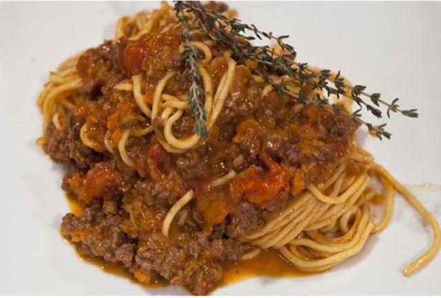 špagety bolonese