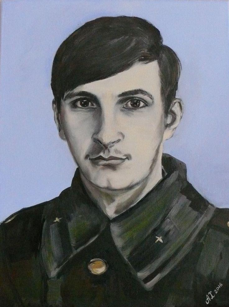 Portrait. Oil on canvas. 30*40