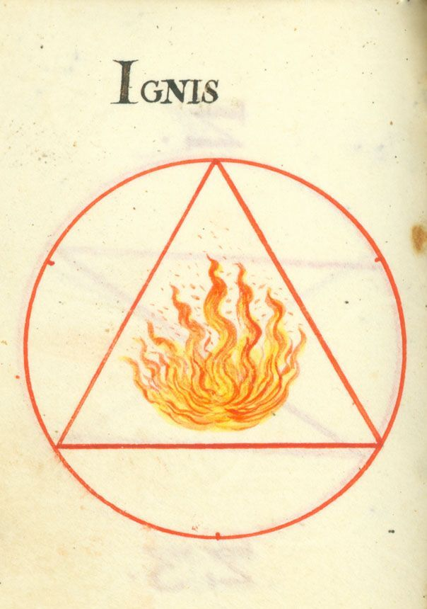 Alchemy Fire Sacred Geometry