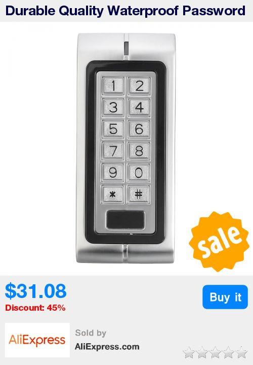 Durable Quality Waterproof Password Keypad Card Reader Entry Door Lock PC Access Control System New Arrival * Pub Date: 14:18 Apr 12 2017