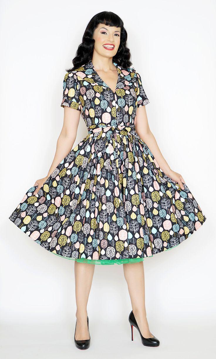 Lauren Dress in Fall For You print