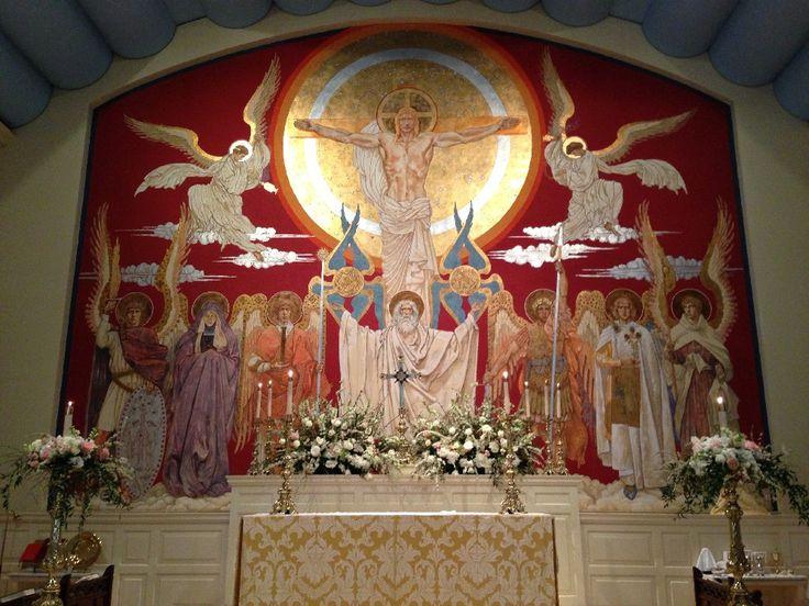 High Altar Christ Triumphant - Jan Henryk de Rosen (February 25, 1891 – August 22, 1982)