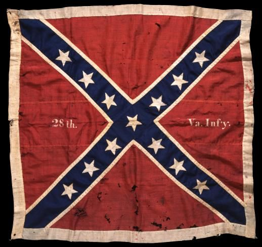 colors of the confederate flag