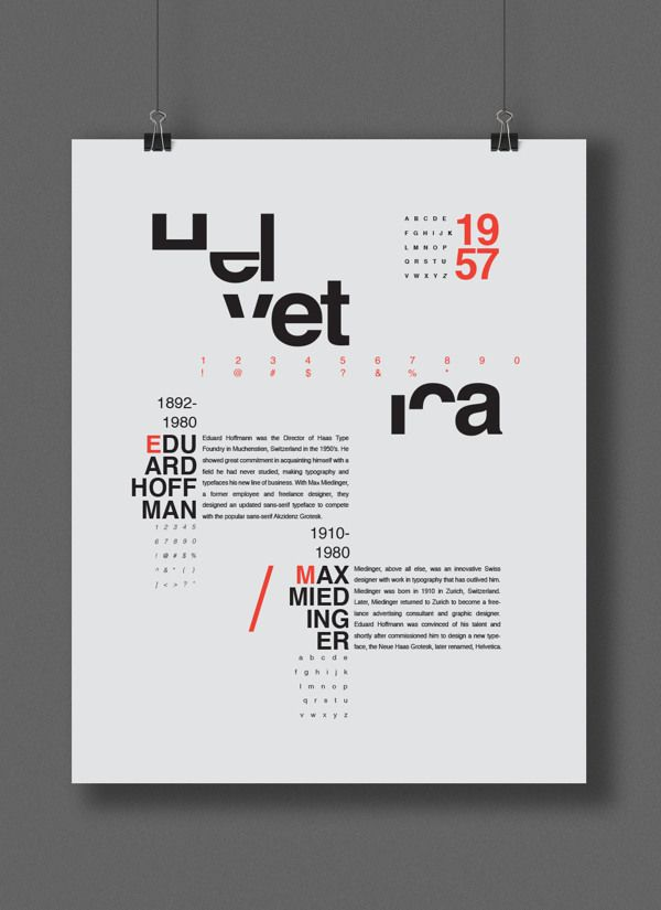 Helvetica Poster on Behance