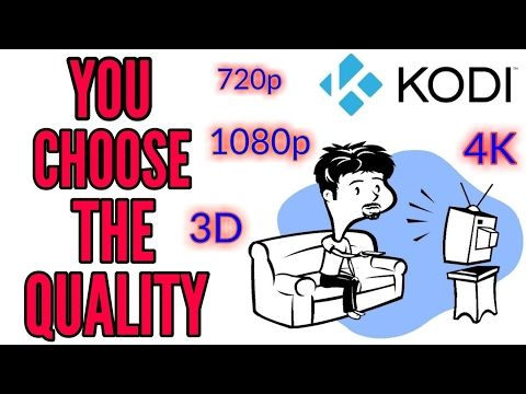 New KODI add-on 720p, 1080p, 3D or 4K you choose