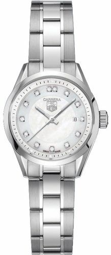 TAG Heuer Women`s WV1411.BA0793 Carrera Diamond Watch for only $2,018.98 You save: $881.02 (30%)