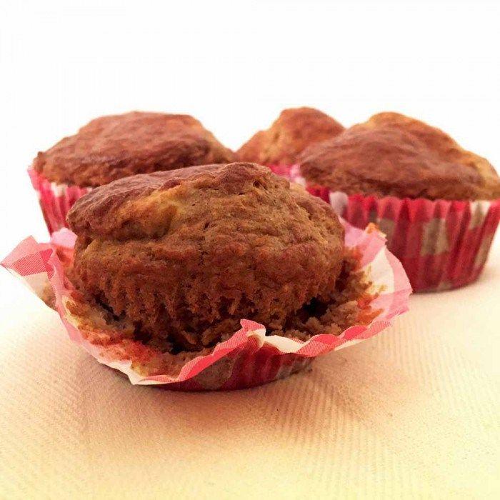 Speculaas pompoen muffins - Karlijnskitchen.com