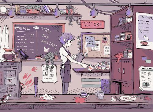 Kirishima Touka,Touka Kirishima,Tokyo Ghoul,Anime,аниме,anime gif,Sasaki Haise,Haise Sasaki,в комментариях еще одна,desferal